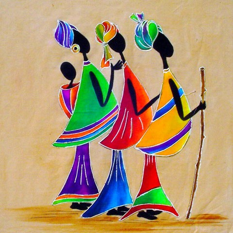Fabric Painting Designs Women Indaba