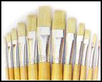 579 Flat Brushes